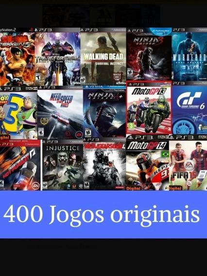 Combo De Mais De 400 Jogos Digitais Para Ps3