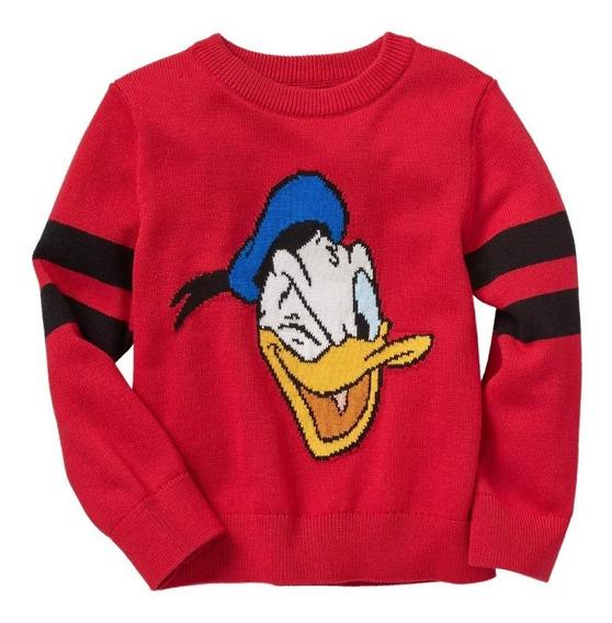 Sueter G A P Disney Donald Pato Babygap T2 138296 Original