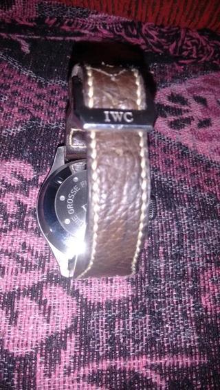 Relógio Iwc Schaffenhauser, Caixa De Aço Vidro Safira
