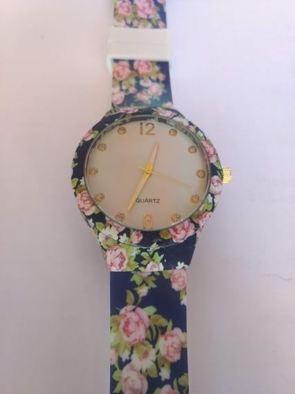 Relógio Feminino Estampado - Moda Praia