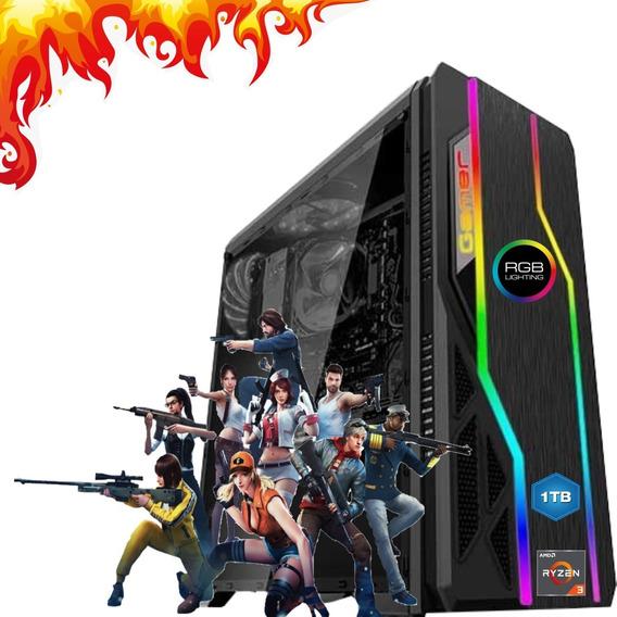 Cpu Gamer Barata Amd A8 9600 8gb Hd 500gb Vga Radeon R7 2gb