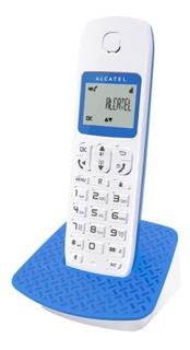 Telefono Inalambrico E192 Azul Marca Alcatel