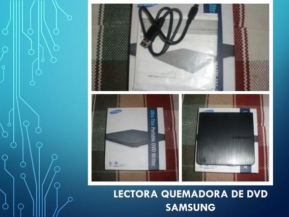 Lectora Y Quemadora De Cd Samsung