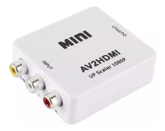 Adaptador Convertidor Video Rca A Hdmi