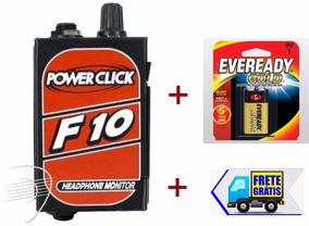 Power Click F10 + Bateria Eveready Gold