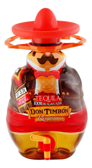 Tequila Don Timbón 100% Rep 2.2l