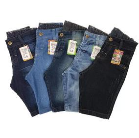 Kit 5 Short Bermudas Jeans Infantis Masculinas Baratas Lucre