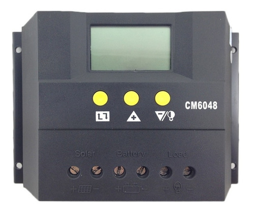 Regulador De Carga Solar 60a 48v, Pantalla Digital!!