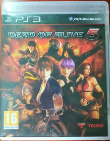 Dead Or Alive 5 Ps3 Playstation 3 Seminovo