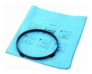 Stanley 25-1201 Paño Azul, Filtro Reutilizable Con Anillo De