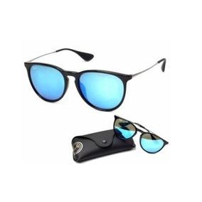 ac8186820 Oculos Espelhado Erica Velvet Veludo Azul Royal De Sol - Óculos no ...