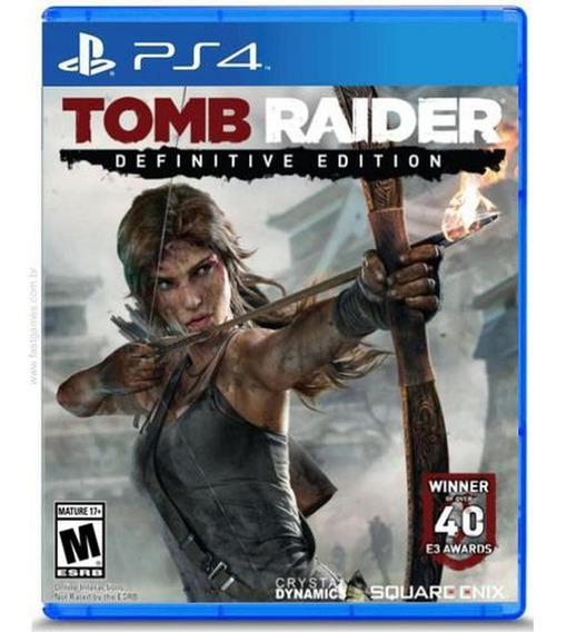 Tomb Raider Definitive Edition - Ps4 Mídia Físca Lacrado