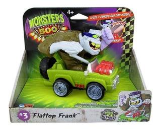 Auto Monster 500 Flattop Frank # 3 C/ Luz Y Sonido Replay
