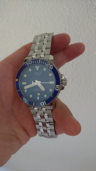 Reloj Tissot Seastar 1000 Automático Pwr80 Bisel Cerámico