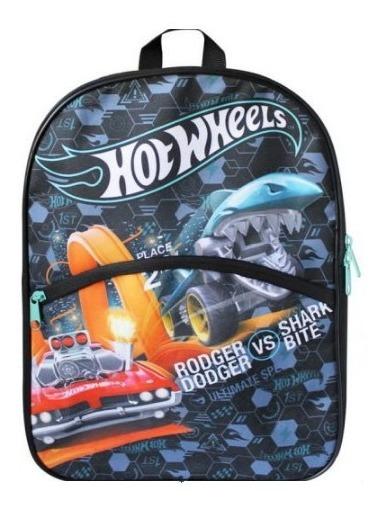 Mochila Escolar Print Hot Wheels Importada