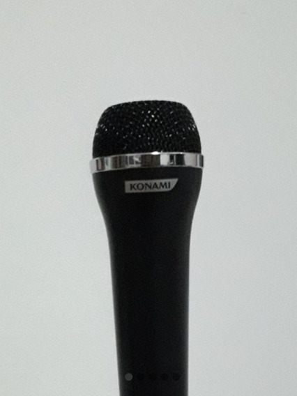 Microfone Konami Do Playstation Para Guitar Hero E Rock Band