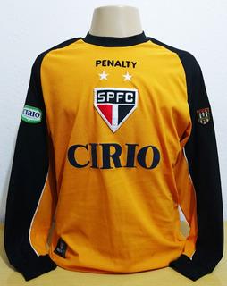 Camisa De Goleiro São Paulo Penalty Cirio Amarela