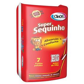 Fralda Infantil Clin Off C/7 Super Sequinho Xg