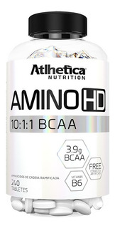 Amino Hd 10:1:1 Recovery -240 Tabletes - Atlhetica Nutrition