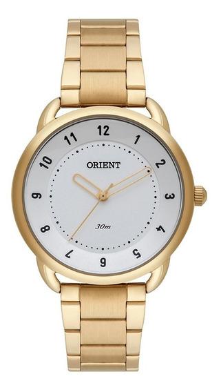 Relógio Orient Feminino Dourado Fgss0123 S2kx