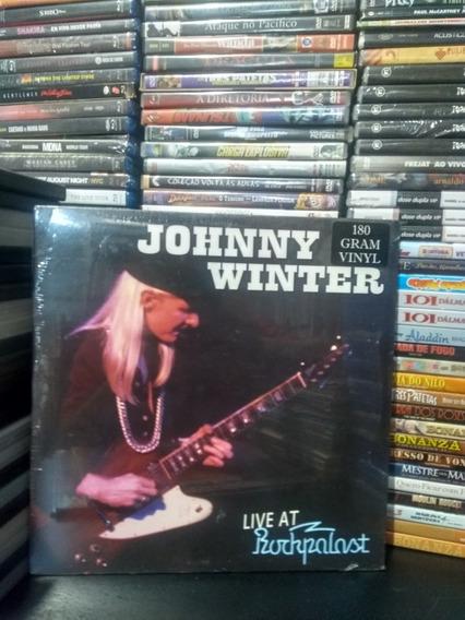 Lp Jonny Winter Live At Rockpalast 180gram Importado Lacrado
