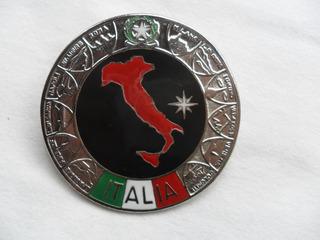 Escudo Italia Bota Fiat Ferrari Lancia Auto Insignia Manual