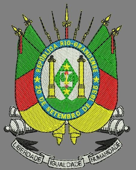 Programa De Bordado / Brasão Do Rio Grande Do Sul