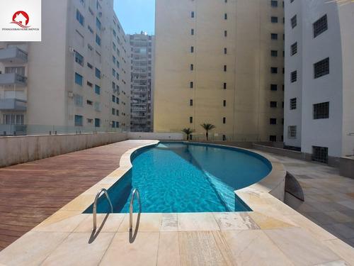 Apartamento Reformado À Venda Frente Mar, Em Ótima Localização Nas Pitangueiras - Ap05835 - 69364416