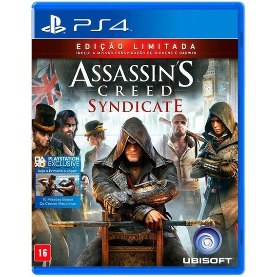 Assassins Creed Syndicate - Ps4 Midia Fisica