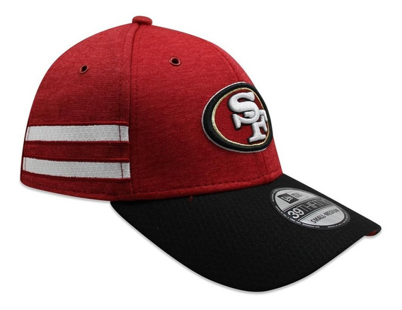 Gorra New Era 39 Thirty On Field 2018 49ers Sideline Defende