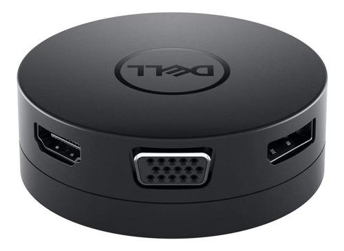 Imagen 1 de 8 de Adaptador Usb Tipo C Dell - Rj45, Hdmi, Vga, 4k Modelo Da300