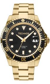 Relógio Technos Masculino Skymaster Automatic 8205ny/4p