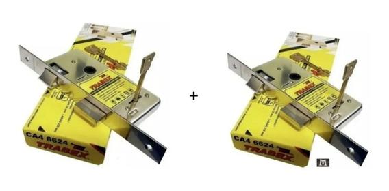 Cerradura Trabex 6624 ( 2 ) Pasador Rectangular Hermanadas