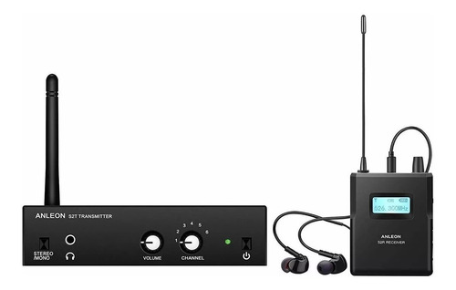 Anleon S2 Uhf Stereo Wireless Monitor System In-ear Living Stones