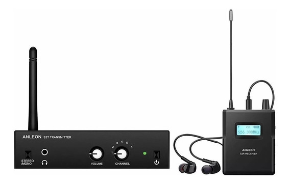 Anleon S2 Uhf Stereo Wireless Monitor System In-ear Living Stones Cuotas