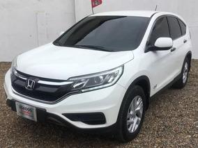 Honda Crv Lx 4x4 2015 Blanca Excelente Estado