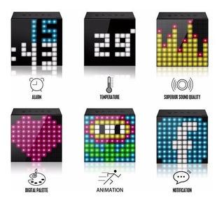 Parlante Portatil Bluetooth 5w Divoom Timebox Mini Hf Moron