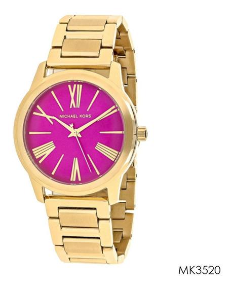 Relógio Feminino Michael Kors Dourado Mk3520