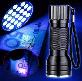 Lanterna Led Uv 21 Led Luz Ultra Violeta Ilumina Escorpião