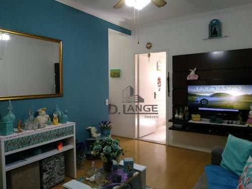 Imagem 1 de 24 de Apartamento Com 3 Dormitórios À Venda, 75 M² Por R$ 370.000,00 - Novo Taquaral - Campinas/sp - Ap16520