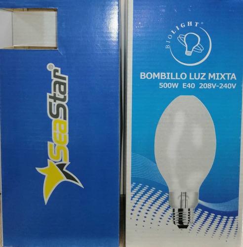 Bombillo Luz Mixta 500w 220v E40 Por 2 Unidades