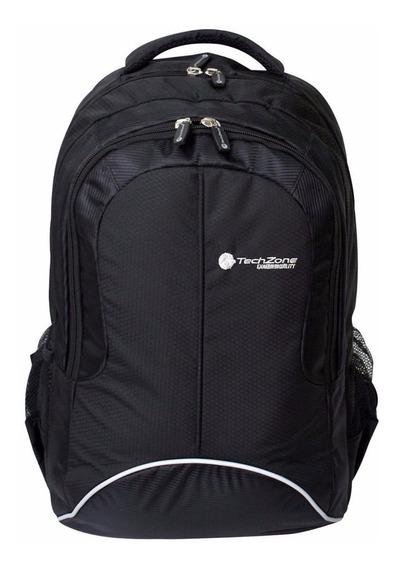 Mochila Sport Laptop Techzone Backpack Hasta 15.6 Varios Colores Tzbts10blk