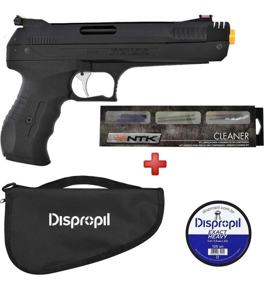 Pistola Pressão Beeman 2004 P22 5.5 + Kit Completo Promoção