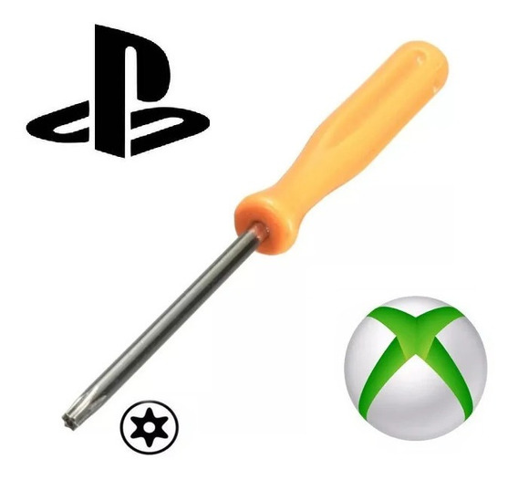 Chave Mini Torx T8 Com Furo Ps3 Ps4 Controle Xbox 360 One