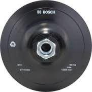 Disco De Goma 4.5  Con Tuerca Para Lijadora Bosch