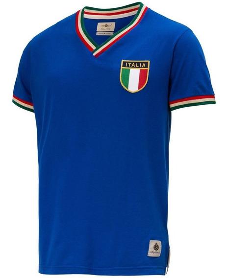 Camisa Itália Retrô Gol Seleção Edição Limitada