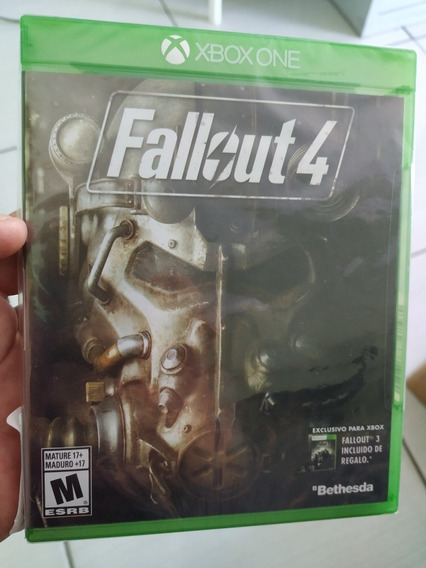Fallout 4 Xbox One Novo Mídia Física Lacrada