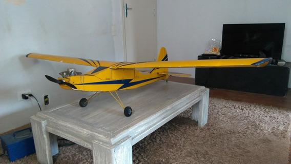 Aeromodelo Asa Alta C/ Motor Cb60 E Rádio Skysport 4