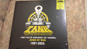 Caixa 6 Lps Tank The Filth Hounds Of Hades Dogs Of War 81-02