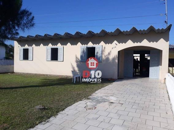 Casa Com 3 Dormitórios Para Alugar, 50 M² Por R$ 770/mês - Erechim - Balneário Arroio Do Silva/sc - Ca1734